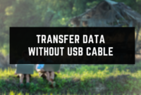 Transfer Data Without USB Cable Between Mobile And Computer